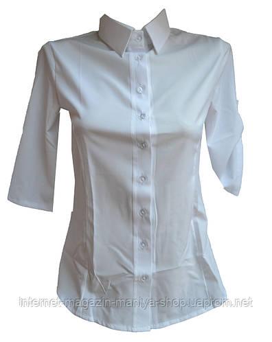 Рубашка женская 3/4 рукав
