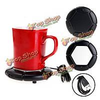 Портативный USB Powered Кубка кружка кофе чай напитки нагреватель теплее коврик