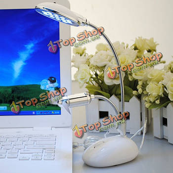 Лампа настольная и вентилятор USB LED свет для ноутбука