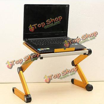 Складная регулируемая настольная подставка с USB охлаждающая подставка для ноутбука бюро