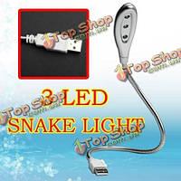 По USB 3 LED свет лампы гибкий для ПК/ноутбук/ноутбук