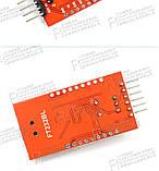 FT232BL FT232 USB to TTL 5 В 3.3 В Загрузочный Кабель Модуль Последовательный Адаптер Для Arduino USB to 232, фото 3