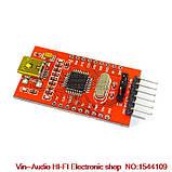 FT232BL FT232 USB to TTL 5 В 3.3 В Загрузочный Кабель Модуль Последовательный Адаптер Для Arduino USB to 232, фото 2