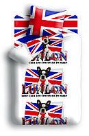 Постельное белье 4YOU, полутораспальное, дизайн Британец