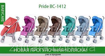 НОВИНКА!  Прогулочная коляска BABYCARE Pride BC-1412 - функциональна и красива!