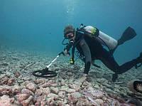 Подводный поиск с металлоискателем