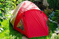 Палатка Foxhunter JY 1522 двухслойная 3-4 местная