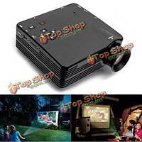 H80 Mini светодиодный проектор для домашнего телевизора VGA Поддержка HDMI 1080P