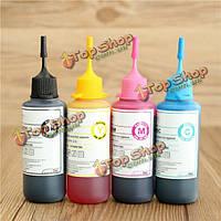 4 цветных универсальных чернил добавления для eposn канона hp принтер брата