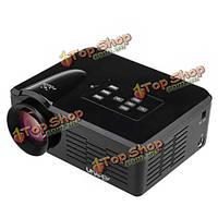 Лимонная u35 800lm придают домашний кинотеатр 640х480 мини LED проектор HDMI SD и USB ТВ AV разъем VGA