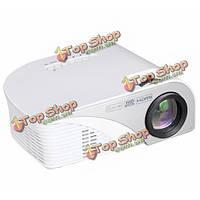 805B LCD  Mini поддержка 1080p 1200 люменов LED портативный проектор домашнего кино белый