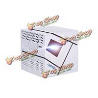 Doogee P1 Andriod 4.4 DLP Wi-Fi беспроводной портативный видеопроектор 1080p LED карманный проектор HD для домашнего кинотеатра белый
