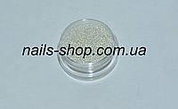 Бульонки для ногтей стеклянные прозрачные