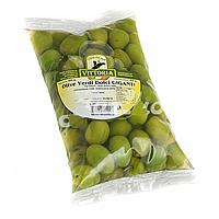 Оливки зеленые с косточкой Vittoria Olive Verdi Dolci Giganti, 850г.