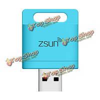 Zsun Wi-Fi Card Reader Memory Extender картридер с Wi-Fi