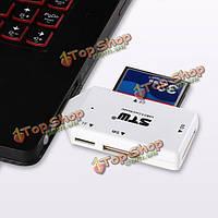 Stw мини-USB 3.0 на 5 Гбит/с ВСЕ в 1 много sd tf cf ms адаптер картридера флэш-памяти