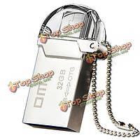 Дм pd008 Micro USB к USB 3.0 16g / 32gb / 64gb флэш-накопитель для OTG смартфона ПК