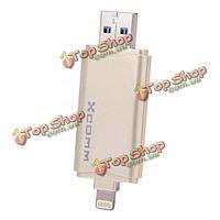 Флешка USB 3.0 для Iphone 6 ПК Xcomm XU-209 16/32/64Gb