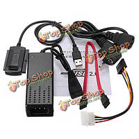 IDE кабель жесткого диска для HD ГНБ адаптер Вт SATA USB 2.0