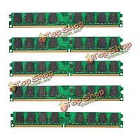 5шт 2Гб PC2-6400 240pin DDR2-800МГц DIмм оперативной памяти материнской платы AMD