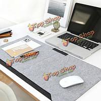 640 * 330мм накладка теплая двухслойная многофункциональный рабочий стол в офисе мышь с держателем ручки и 2 кармана