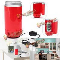 Мини портативный usb LED pc Холодильник Холодильник напиток банок для напитков охладитель
