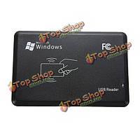 USB RFID датчик бесконтактных смарт-ID em4001 читатель 125khz карты