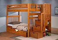 Двухъярусная кровать трансформер с ящиками - Филарет, фото 1