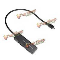 4 порта микро USB OTG кабель зарядного центром для планшетных телефон