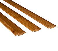 Бамбуковый молдинг стыковочный, темный, фото 1