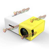Мини проектор для домашнего кинотеатра YG-300 LCD 1080p