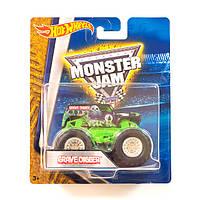 Машинка внедорожник (Монстр-трак) Hot Wheels Monster Jam 1:64 Grave Digger