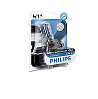 Галогенная лампа Philips WhiteVision H11 12V 55W (12362WHVB1)