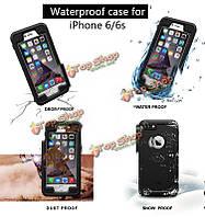 Антистатическое плавание подводный водонепроницаемый чехол для iPhone 6 6s яблока 4.7