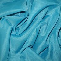 Тюль Вуаль голубая лагуна, однотонная + высококачественный пошив