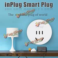 Inplug беспроводной Wi-Fi умного дома штепсельной вилки гнезда для iPhone смартфон