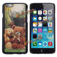 Медвежонок 3D ПК защита задняя крышка чехол для iPhone 6