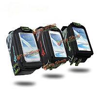 Rockbros водонепроницаемый велосипед сумка передняя трубка для 4.2-дюймов до 4.8-дюймовsumsang смартфон
