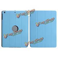 Смарт обложка с жестким задним держателем кожаный чехол подставка для iPad Air
