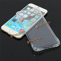 Мягкие гель транспарентных четких TPU дело защитные обложки кожу для Apple iPhone 6 6s 4.7 дюйма