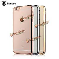 Baseus кейс прозрачный Sparkle покрытие жесткийшт задняя крышка для iPhone 6/6с Plus 5.5-дюйма