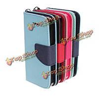 Комбо Flip бумажник карты держатель мешок PU кожаный чехол для iPhone 5С