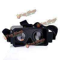 Глава монтировать пластиковые 3D VR виртуальной реальности видео-очки для iPhone 6