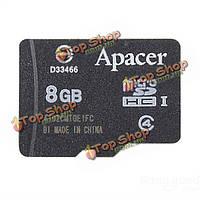 Apacer 8Гб Class 4 Micro-SD карты С4 TF карт флэш-памяти