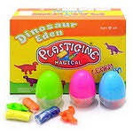 """Набор для творчества """"Пластилин - Динозавры"""" с формочкой в яйце"""