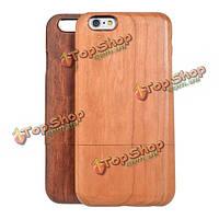 Original природных деревянный чехол жесткий футляр для iPhone 6 4.7-дюймов