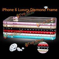 Luxury Diamond гиппокамп пряжки металла рамка Бампер для iPhone 6