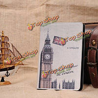 Ретро флага Лондона Биг Бен складной стенд PU кожаный чехол для iPad mini