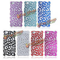 Hollow Flower Protect Hard Back Case For iPhone 5G