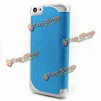 Красочная деревянная картина Grain кожаный чехол для iPhone 5С
